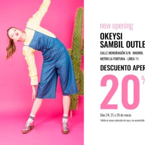 Okeysi – Descuento apertura -20%