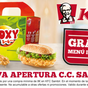 KFC – Menú Infantil GRATIS