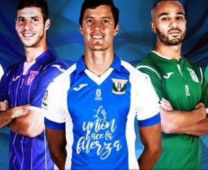 Presentación equipaciones Club Deportivo Leganés