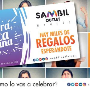 Compra, rasca y gana con Sambil Outlet