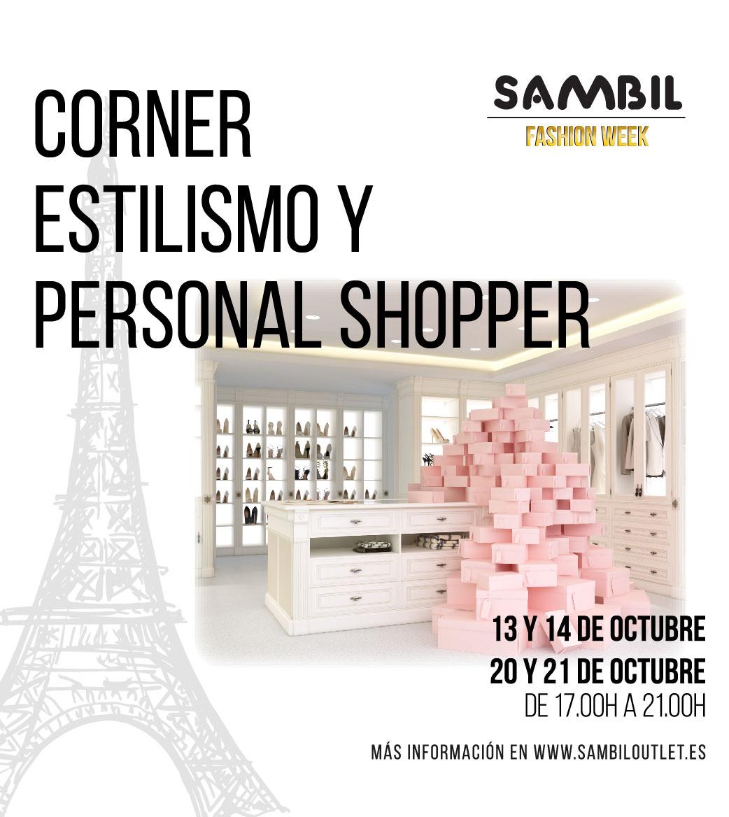 Corner de Estilismo y Personal Shopper