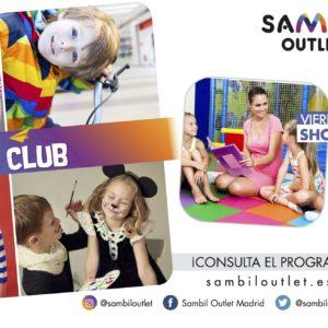 ¡PROGRAMACIÓN SAMBIL KIDS CLUB!