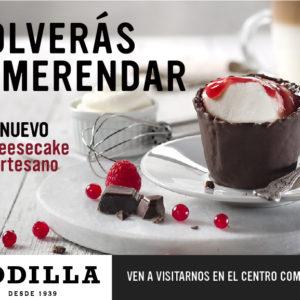 Nuevo Cheesecake artesano de Rodilla