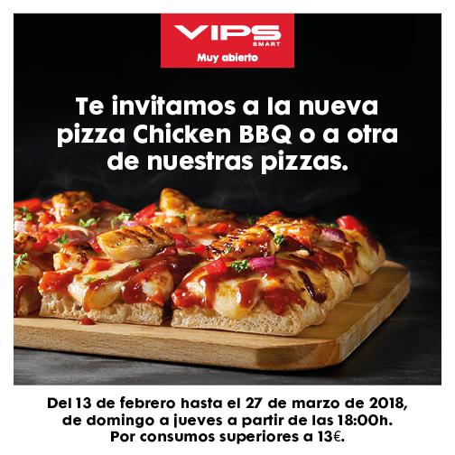 ¡Te invitamos a una de nuestras pizzas!