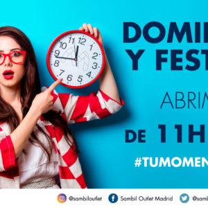 NUEVO HORARIO DOMINGOS Y FESTIVOS