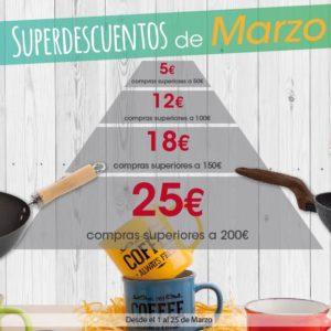 SUPERDESCUENTOS DE MARZO EN OH!GAR