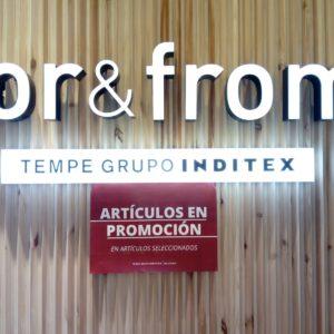 FOR&FROM PROMOCIÓN HASTA 40% SOBRE PRECIO OUTLET