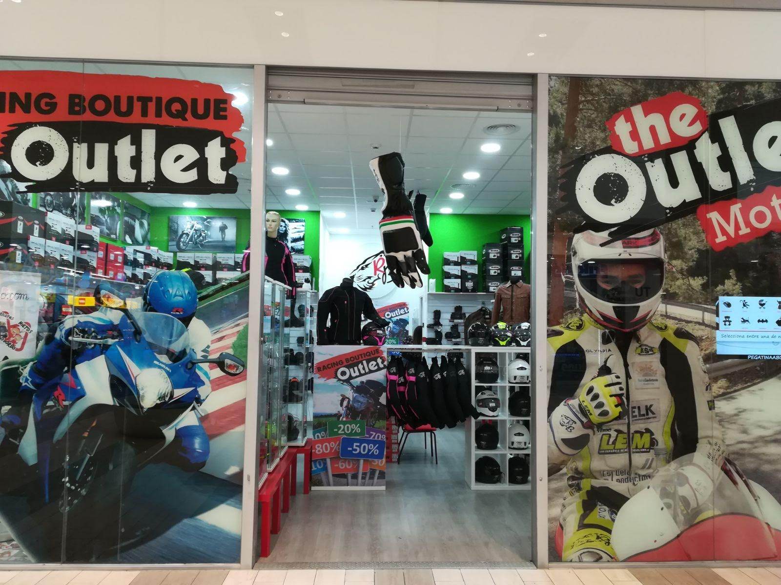 moverse Perplejo Cereal  Racing Boutique Outet - Sambil Outlet Madrid