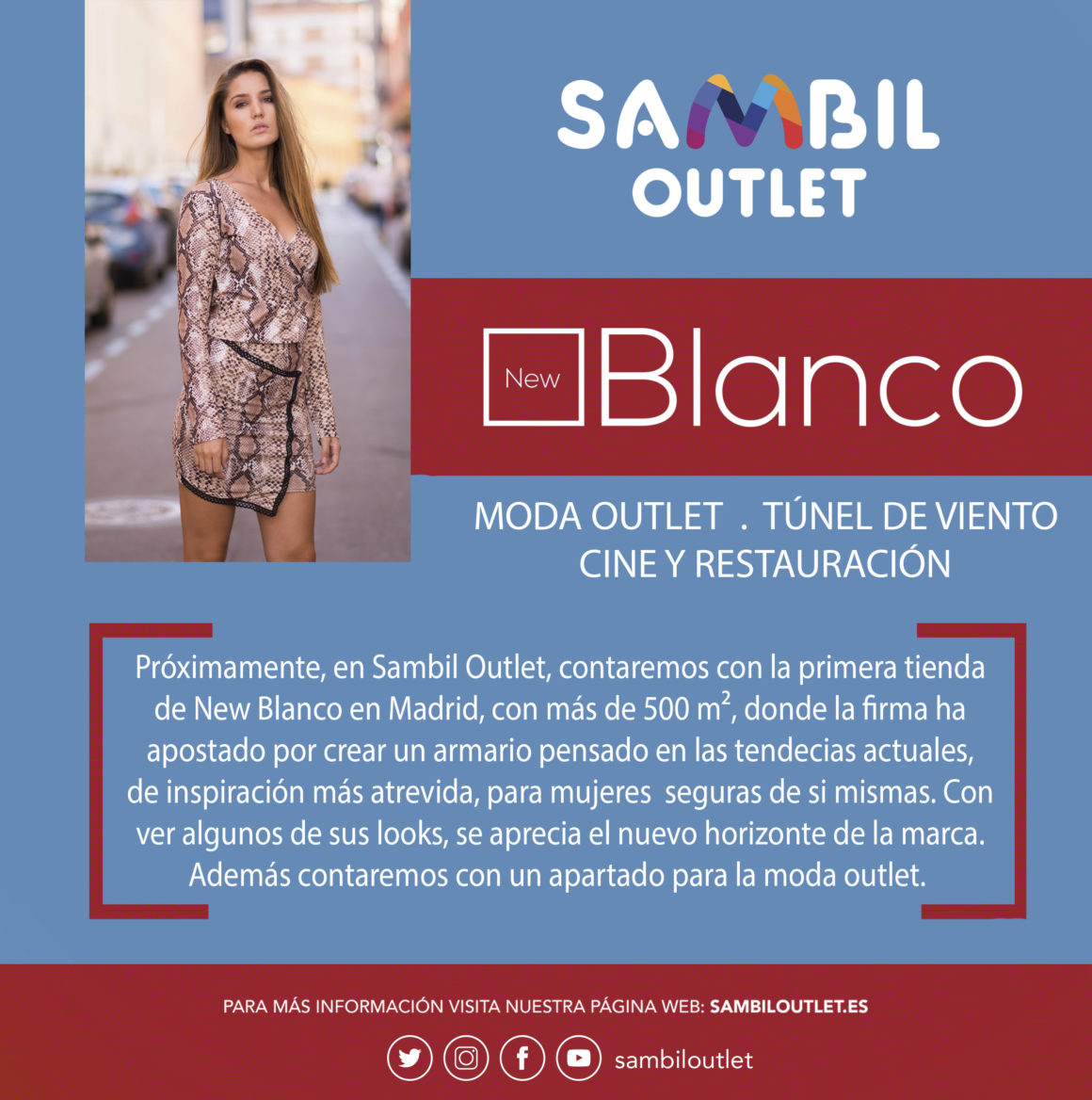 New Blanco llega a Sambil Outlet