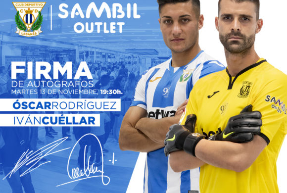 Firma de autógrafos del Club Deportivo Leganés