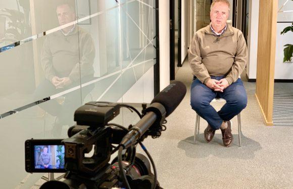 El equipo de 'Informe Madrid' en Telemadrid con José Antonio Masegosa al frente,  entrevistó a nuestro Director, Alfredo Cohen