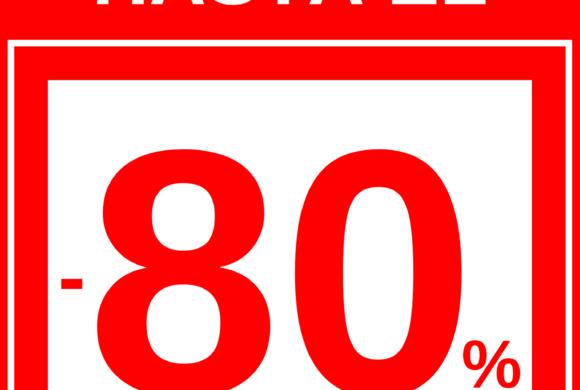 CONSIGUE DESCUENTOS DE HASTA EL 80% EN LANDED