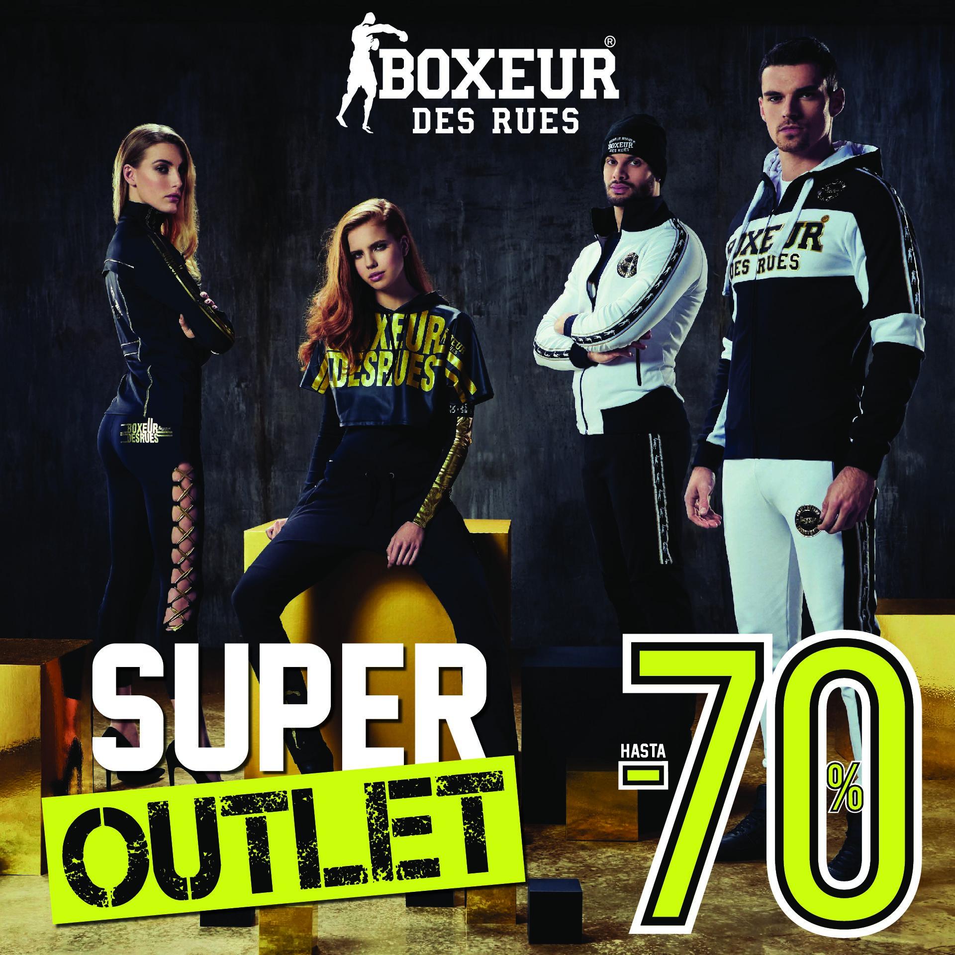 Descuentos de hasta el 70% en Boxeur des Rues