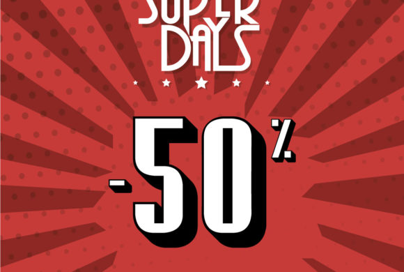HAN LLEGADO LOS SUPER DAYS A MUSTANG OUTLET