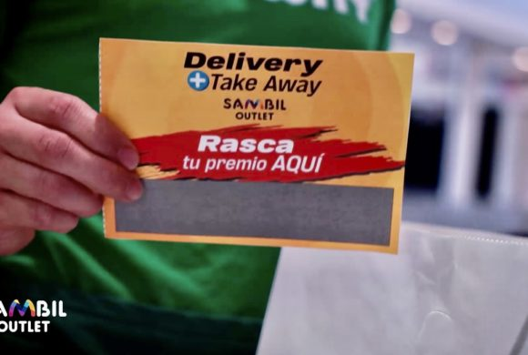 LLEGA EL RASCA Y GANA, AL DELIVERY Y TAKE AWAY DE SAMBIL OUTLET